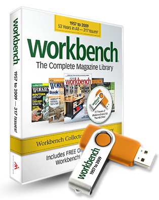 Workbench Back Issue Library USB Thumb Drive